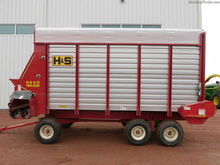 2012 H&S HD Twin Auger 7+4