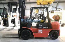 2008 Toyota FG 45(4.5 Ton) lpg/