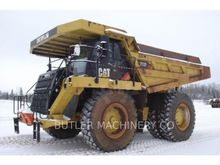 2010 Caterpillar 777F Rigid Dum