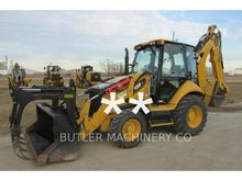 2014 Caterpillar 430F Rigid Bac
