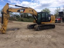 2015 Caterpillar 323F Track exc