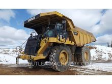 2012 Caterpillar 777F Rigid Dum