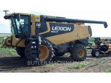 2010 Caterpillar LEX 580R Combi