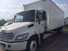 2011 Hino 338 Box Truck