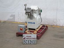 Used Gaulin Homogeni