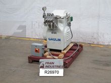 Gaulin Homogenizer Single Stage