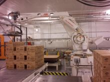 ABB Automation Palletizer Robot