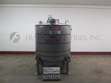 Feldmeier Tank Jacketed 500 GAL