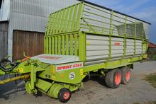 1998 Claas Sprint 434 K with to