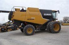 2012 CLAAS LEXION 760