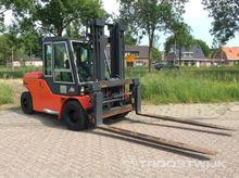 Dantruck 9680 Diesel forklift