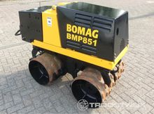 2014 Bomag BMP 851 Radiographic