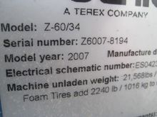 2007 Genie genie Z60