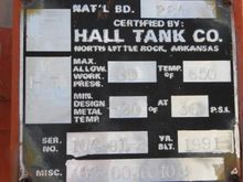 1991 Deaerator Hall Tank Co. #1