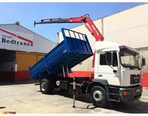 2001 Man ME 280 Truck crane