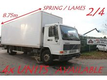 1998 Volvo FL7 -230 CLOSED BOX