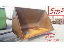 2015 Volvo 5M³ LOADER BUCKET