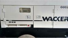Wacker G25 Generator Set