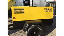 2004 Atlas Copco 185CFM Air Com