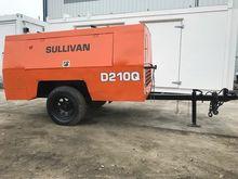 Sullivan 210CFM Air Compressor