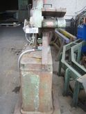 Cut of grinding machine on foot