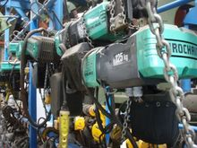 1997 VERLINDE Chain hoists SALE