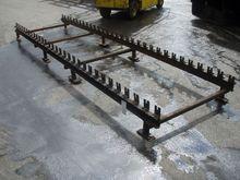 Roller conveyor; 3,85 m x 1 m