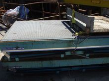 Used Hydraulic table