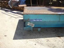 Hydraulic lifting table 3 t, 25
