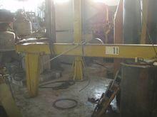 Slewing pilar crane 1T, L.2400m