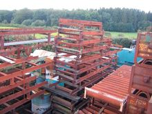 202,5m roller conveyers on feet