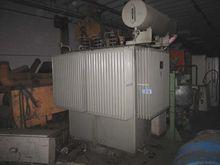 Transformer 1600 KVA, 20/15000V