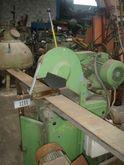 Cut of grinding machine on base