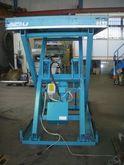 Hydraulic table 3 t,, 2500 mm x