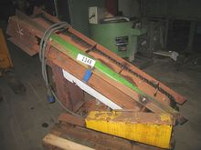 Metallic belt steep conveyor fo