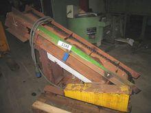 Metallic belt steep conveyor fo