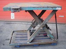 Used Hydraulic table
