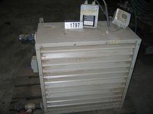 Aerothermic stove 40,3kW 4065m³