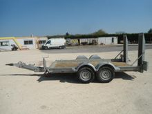 2012 Ecim 2AFP350TA Trailer
