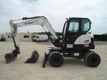 2014 Bobcat E55W Wheeled excava