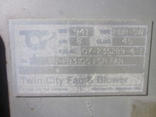 Used TWIN CITY FAN A