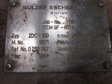 Used ESCHER-WYSS ZDC