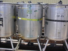 WALKER STAINLESS JACKETED TANK