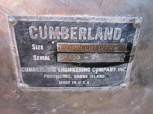CUMBERLAND 20 PELLETIZER