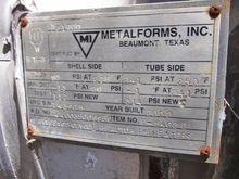 2002 METALFORMS GLYCOL REACTOR