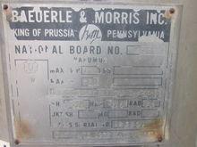 BAEURLE & MORRIS REACTOR/VESSEL