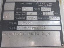 2007 GULFEX, INC. REGENERATOR F