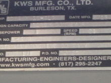 Used KWS FINISHER2 C