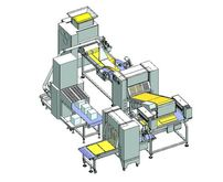 Lamination-line for pastry prod