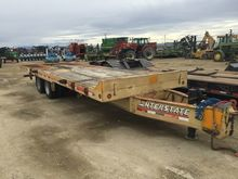 Interstate 40 ton tilt trailer